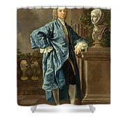 Dr. Charles Chauncey  M.d. Shower Curtain