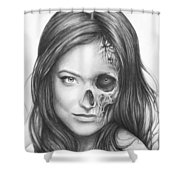 Dr. Hadley Thirteen - House Md Shower Curtain by Olga Shvartsur