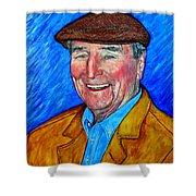 Dr James E Roderick Shower Curtain