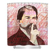 Dr. John Pemberton Inventor Of Coca-cola Shower Curtain