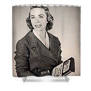Dr Joyce Brothers 1959 Shower Curtain