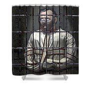 Dr. Lecter Restrained Shower Curtain