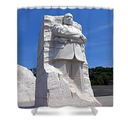 Dr Martin Luther King Memorial Shower Curtain