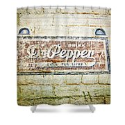 Dr Pepper-good For Life Shower Curtain
