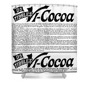 Dr. Tibbles Vi-cocoa Shower Curtain