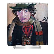 Dr Who #4 - Tom Baker Shower Curtain