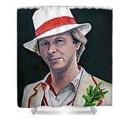 Dr Who #5 - Peter Davison Shower Curtain