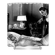 Dracula Bela Lugosi Fantasy Nude Shower Curtain