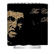 Dracula In Sepia Visits Halifax Shower Curtain by John Malone