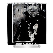 Dracula Movie Poster 1931 Shower Curtain
