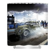 Drag Racing 1 Shower Curtain