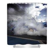 Drag Racing 11 Shower Curtain