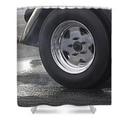 Drag Racing 9 Shower Curtain