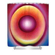 Dragon Eye Shower Curtain