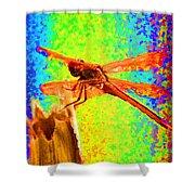 Dragon Fly- Creative Shower Curtain