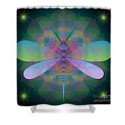 Dragonfly 2013 Shower Curtain