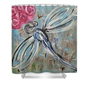 Dragonfly Baby II  Shower Curtain