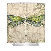 Dragonfly Daydreams-c Shower Curtain