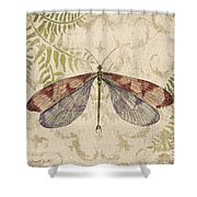 Dragonfly Daydreams-d Shower Curtain