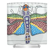 Dragonfly I Shower Curtain