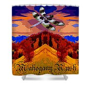 Dragonfly Morning 1 Shower Curtain