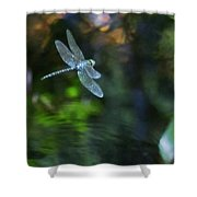 Dragonfly No 1 Shower Curtain