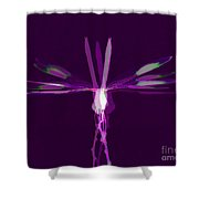 Dragonfly Work 2 Shower Curtain