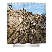 Dragon's Teeth Shower Curtain