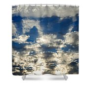 Drama Cloud Sunset I Shower Curtain