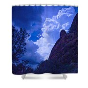 Drama Sky Sedona Shower Curtain