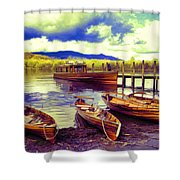 Dramatic Derwent Shower Curtain