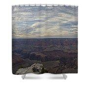 Dramatic Grand Canyon Sunset Shower Curtain