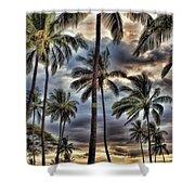 Dramatic Maui Sunset Shower Curtain