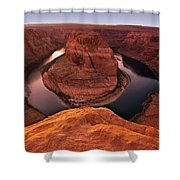 Dramatic River Bend Shower Curtain