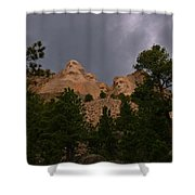 Dramatic Rushmore Shower Curtain