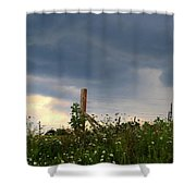 Dramatic Skies Shower Curtain