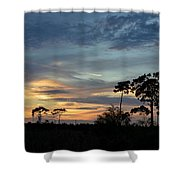 Dramatic Sunset In The Cove Shower Curtain