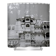 Dramatic Udaipur Shower Curtain