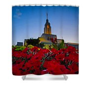 Draper Temple 4 Shower Curtain