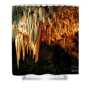 Draperies And Stalactites Shower Curtain