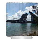 Draw Bridge Open Shower Curtain