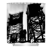Drawbridge Shower Curtain