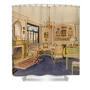 Drawing Room Adam Revival Style Shower Curtain