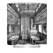 Drawing-room Car, 1869 Shower Curtain