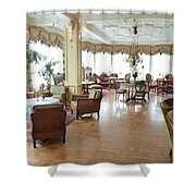 Drawing Room Of Union Oye Shower Curtain