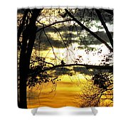 Dream At Dusk Shower Curtain