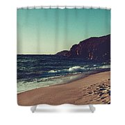 Dream By The Sea Shower Curtain
