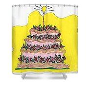 Dream Cake Shower Curtain