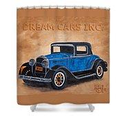 Dream Cars Inc. Shower Curtain
