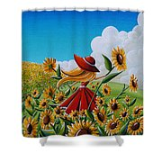 Dream Chaser Shower Curtain by Cindy Thornton